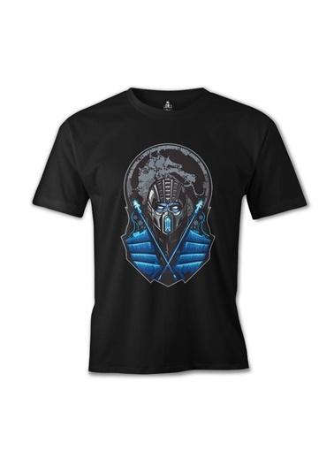 Lord Tshirt Mortal Combat - Sub Zero Siyah Erkek Tshirt Siyah